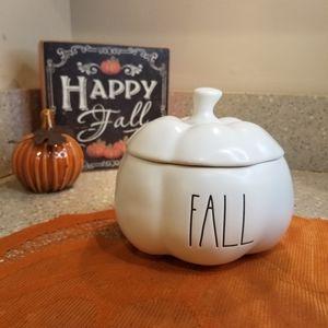 🍁First Day of Fall Rae Dunn Fall Pumpkin Bowl Lid